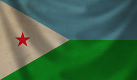 Flag of Djibouti. Stock Photography