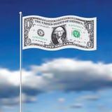 Flag dollar Stock Image