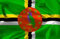 Flag of Dominica Royalty Free Stock Images