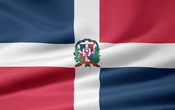 Flag of the Dominican Republic Royalty Free Stock Photos