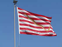 Flag Don't Tread on Me Royalty Free Stock Photography