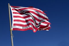 Flag - Don't Tread on Me Royalty Free Stock Photography