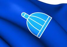 Flag of Durban, South Africa. Stock Photos