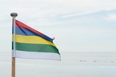 Flag Dutch Terschelling Stock Photos
