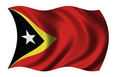 Flag of East Timor Royalty Free Stock Photography