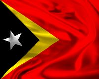 Flag of East Timor Royalty Free Stock Image