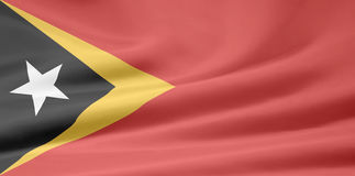 Flag of East Timor Royalty Free Stock Photos
