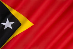 Flag of East Timor Stock Photography