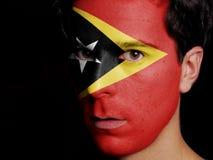 Flag of East Timor Royalty Free Stock Image