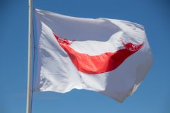 Flag, Easter Island royalty free stock photo
