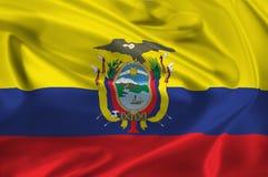 Flag of Ecuador Royalty Free Stock Photography