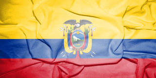 Flag_of_Ecuador 向量例证