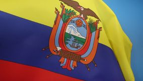 Flag of Ecuador. The flag of Ecuador was first adopted on 1835 and later on September 26, 1860. The design of the current flag was finalized in 1900 with the stock video