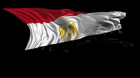 Flag of Egypt Stock Photography