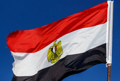 Flag of Egypt Royalty Free Stock Photo
