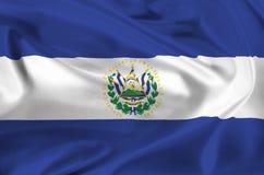 Flag of El Salvador Stock Photography