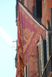Flag and emblem of the Venice Stock Images