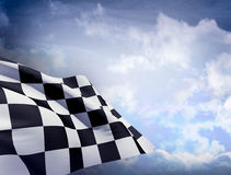 Flag of End Race Stock Images