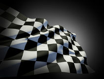 Flag of End Race Royalty Free Stock Images