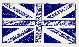 Flag of England Royalty Free Stock Photos