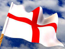 Flag. England Stock Photo
