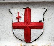 Flag of england. Emblem Stock Photography