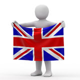 Flag of England. Royalty Free Stock Image