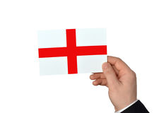 Flag of England in a concept Royalty Free Stock Photos