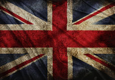 Flag of England. Realistic waving flag of England royalty free illustration