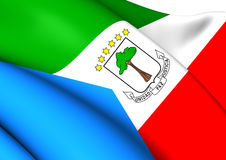 Flag of Equatorial Guinea Royalty Free Stock Images