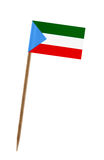 Flag of Equatorial Guinea Stock Images