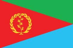 Flag-Eritrea Royalty Free Stock Photography