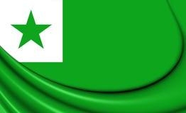 Flag of Esperanto Stock Image