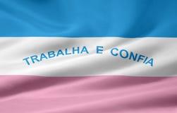 Flag of Espirito Santo. The flag symbolizes the brazil state of Espirito Santo Royalty Free Stock Photos