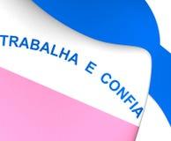 Flag of Espirito Santo, Brazil. Stock Photos