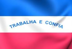 Flag of Espirito Santo State, Brazil. Royalty Free Stock Photo