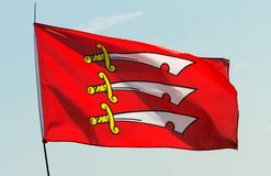 Flag of Essex. County, England Royalty Free Stock Images