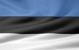 Flag of Estonia Royalty Free Stock Images