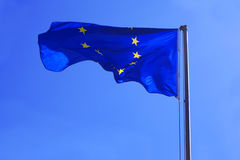 Flag EU Royalty Free Stock Image