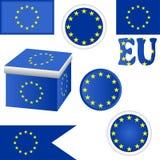 Flag EU. Stock Image