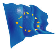 Flag of EU Stock Image