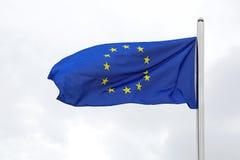 Flag of EU Royalty Free Stock Photo