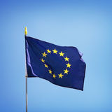 Flag of Europe Royalty Free Stock Photo