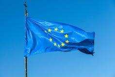 Flag of Europe, or European Flag Royalty Free Stock Photo