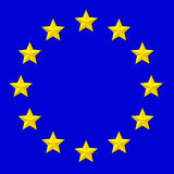 Flag of Europe Royalty Free Stock Image