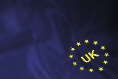 Flag of Europe stars Royalty Free Stock Images