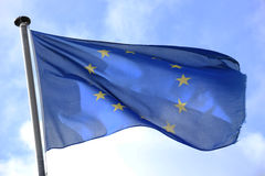 Flag of Europe Stock Photography