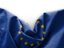 Flag of Europe. On white background stock photography