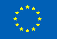 Flag of the European Union Stock Image