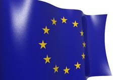 FLAG OF THE EUROPEAN UNION Royalty Free Stock Image